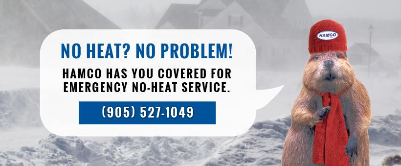 no heat service