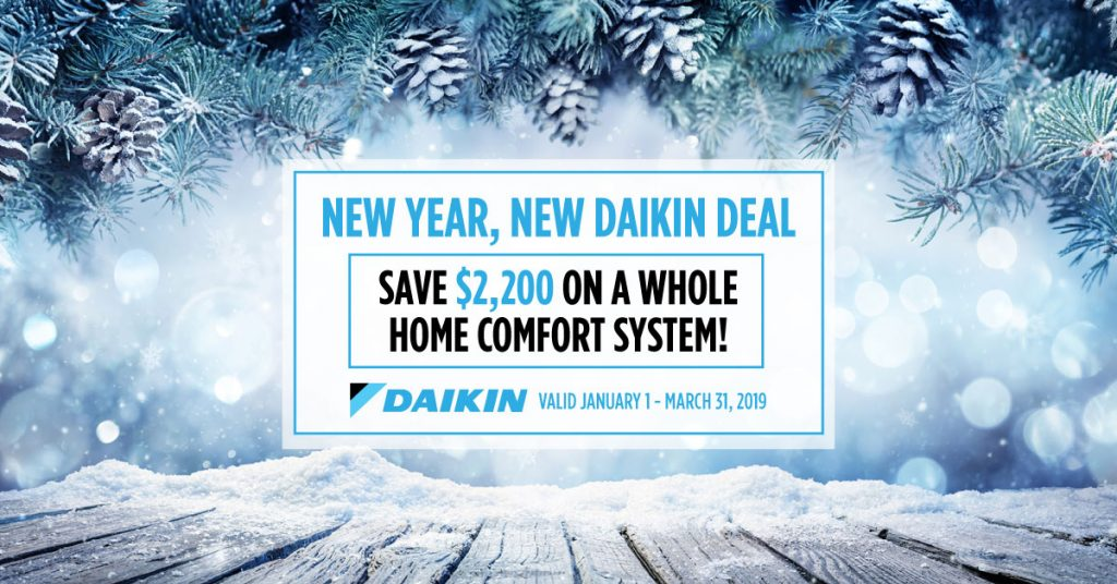Daikin Winter Promotion
