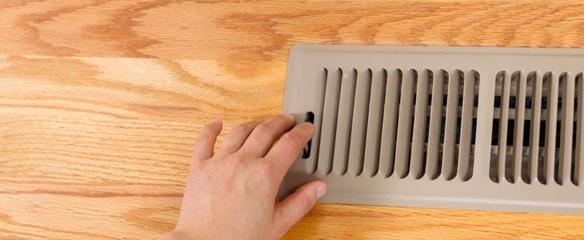 Should you close a vent in an unused room hamilton