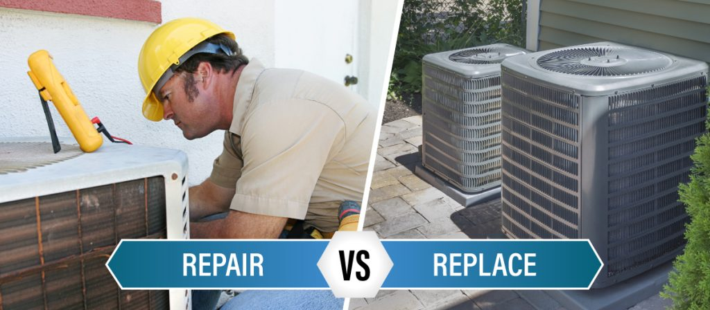 Replace an air conditioner