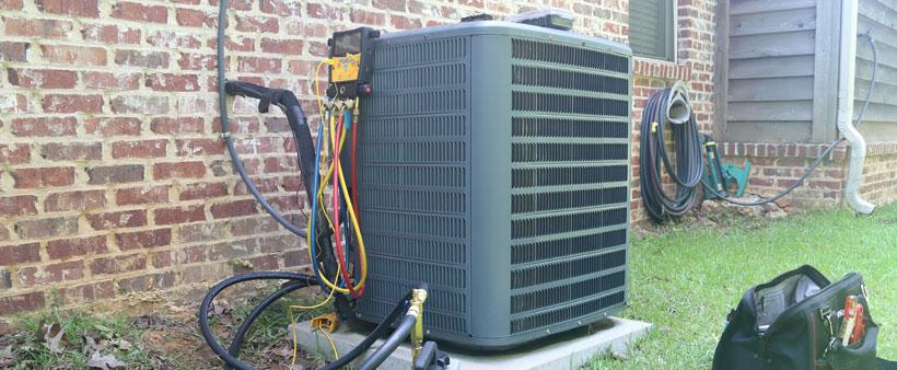 damaging air conditioner
