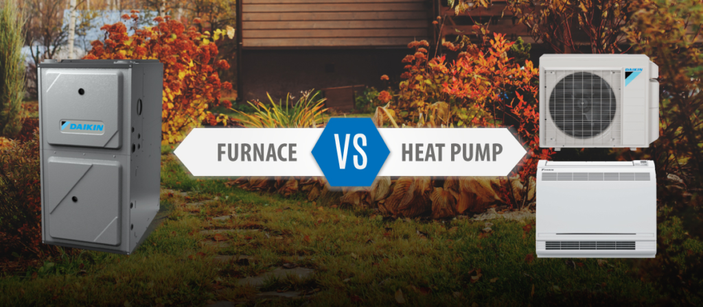 Furnaces Heat Pumps